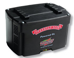 Garage Door Opener Battery Backup