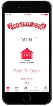 Garage Door Opener App >> Ohd Anywhere Garage Door Opener App