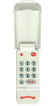 older model wireless keypad