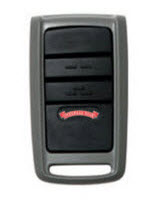 3 button garage door opener remote